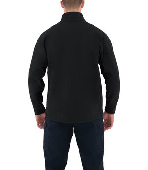 STATIONWS- Men's Softshell Job Shirt 1/2 Zip