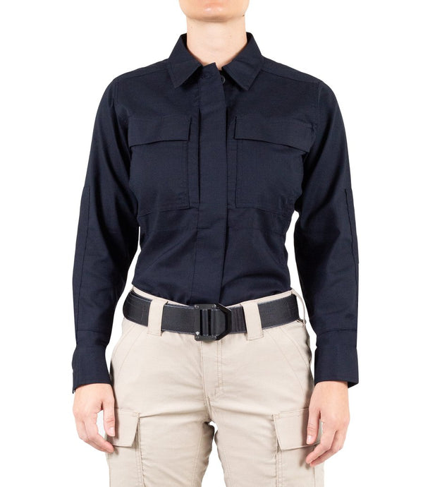 STATIONWS- Women's V2 BDU Long Sleeve Shirt