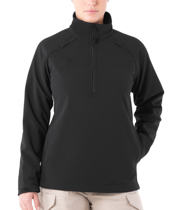 STATIONWS- Women's Softshell Job Shirt 1/2 Zip