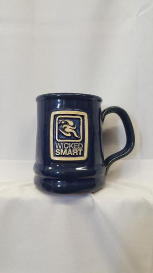 WickedSmart- Pottery logo'd Mugs