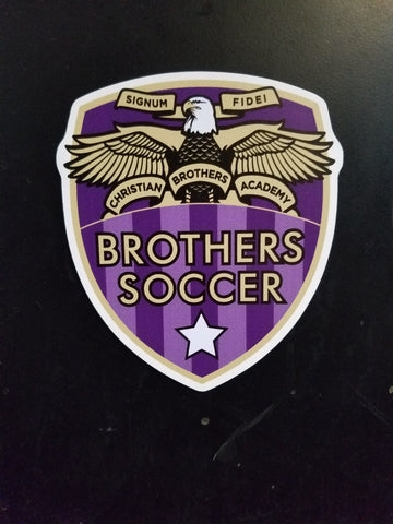 CBASCR- BROTHERS Soccer Car Magnet