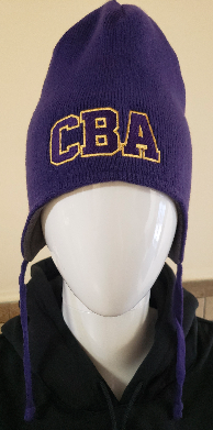 CBA20Holiday- Beanie with strings, color choice