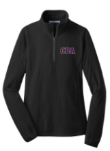 CBA20Holiday- Ladies lightweight Micro Fleece Quarter Zip