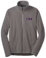 CBA20Holiday- Mens 1/2 zip microfleece jacket