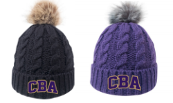CBA20Holiday- Fur Pom Pom Beanie