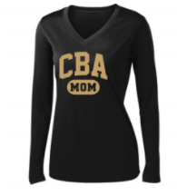 CBA20Holiday- CBA Mom Long Sleeve Performance Shirt