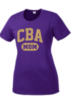 CBA20Holiday- CBA Mom performance Tshirt