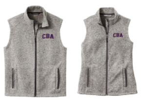 CBA20Holiday- Men's & Ladies Alpine Sweater Fleece Vest