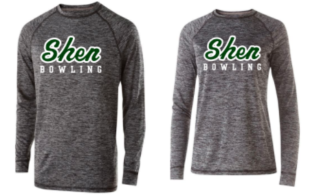 ShBWL-  Warm Up Performance Long Sleeve, Ladies,Youth & Adult