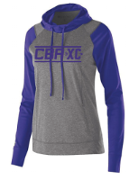 CBATF- XC Hooded Performance Colorblock T, Adult, Ladies & Youth
