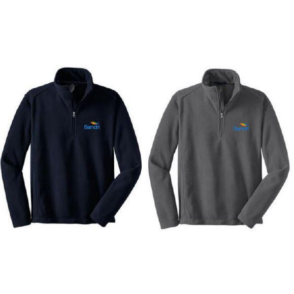 SAND- 1/4 Zip Pullover Fleece