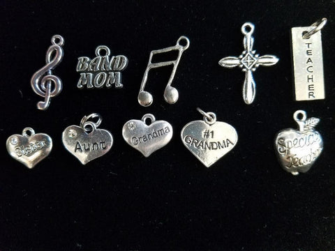 CBASoccer- Add on Pewter Charms