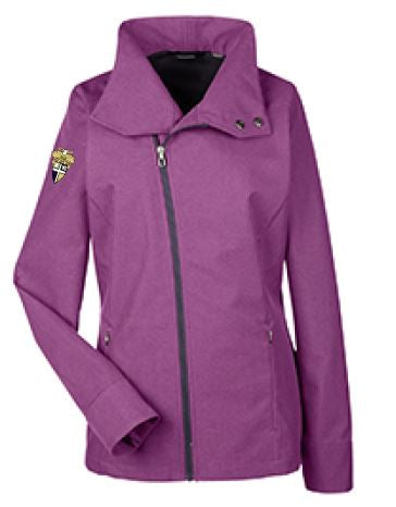 CBA- North End Ladies' Edge Soft Shell Jacket with Convertible Collar