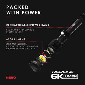 STATIONWS- Redline 6K Flashlight