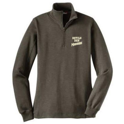 STCGE- Ladies Devils Den Quarter Zip Sweatshirt