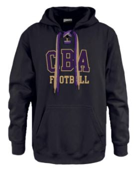 CBAFB- Football Kick off Laces Hoodie