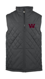 CANVLT19- Quilted Vest, Adult, Ladies & Youth