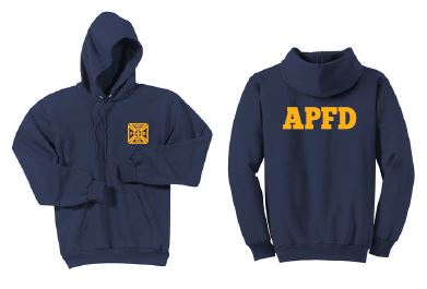 APFire- Adult Cotton Hoodie with back print