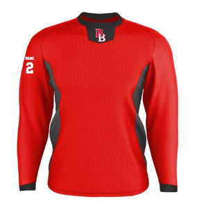 btb- Long Sleeve Pullover Practice Jersey