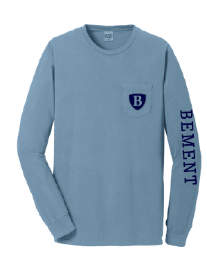 BEMENT- Long Sleeve Pocket T-Shirt