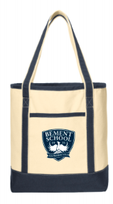 BEMENT- Canvas Boat Tote