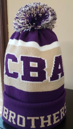 CBA20Holiday- BroPom hat