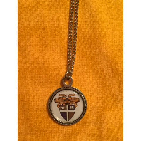 CBASoccer-Enameled Crest Necklace SALE!