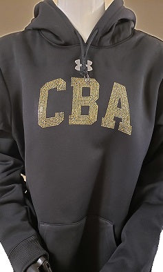"CBA- Under Armour Ladies ""BLING"" Team Fleece Hoody (in stock, select sizes)"