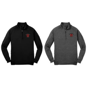 UFOC- Tek Quarter Zip with Embroidered Shield