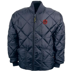 UFOC- Quilted Jacket with Embroidered Shield
