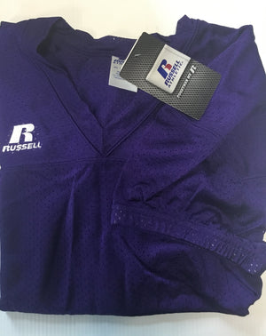 ATTIC20- Russell Replica Football Jerseys, Gold & Purple