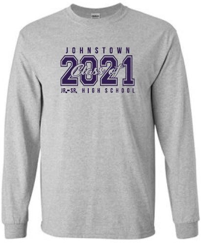 JTHS2021- Class of 2021 Long Sleeve T-Shirt