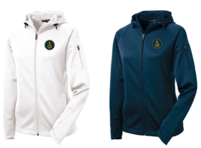 AHN- Ladies Full Zip Hooded Performance Jacket