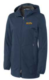AHN- Ladies Hooded Soft Shell Jacket