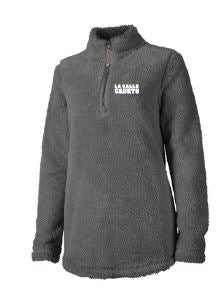 LSIcadets- Ladies Fleece Quarter Zip Pullover