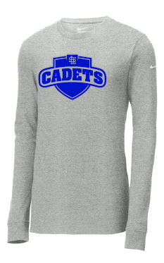 LSIcadets- Long Sleeve Cotton Core Shirt