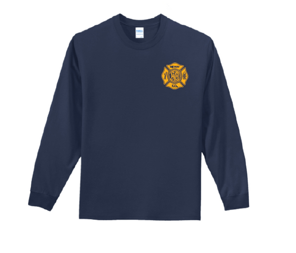 MIDFIRE- Cotton Long Sleeve T-Shirt