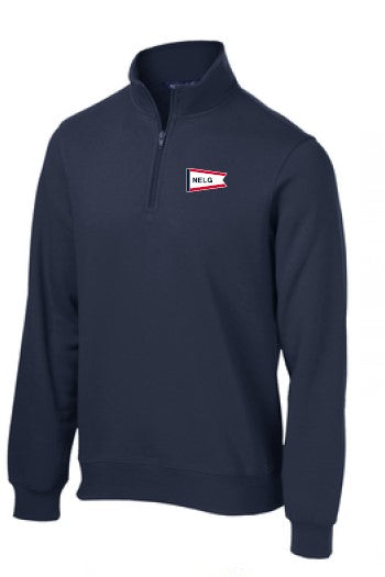 NELG21- Quarter Zip Sweatshirt