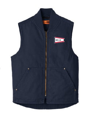NELG21- CornerStone® Washed Duck Cloth Vest