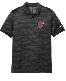 WTVLT19- Men's Nike Dri-FIT Waves Jacquard Polo
