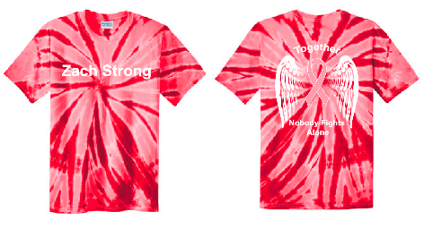 ZSTRONG- Tried & True Tie Dye Tee