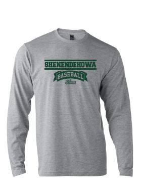 Shenbb-  Long Sleeve Shen Baseball T-Shirt