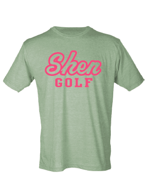 SGolf- Shen Golf Pink Print Tee