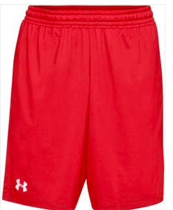 ATTIC20- Under Armour Raid Shorts, Red