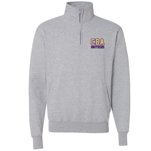 CBA- Champion® Quarter Zip Sweatshirt