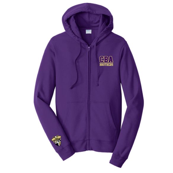 CBA- Full Zip Hooded Sweatshirt