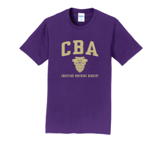 CBA- Cotton Team Purple Tshirt