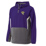 CBA- Performance Hybrid Hooded Pullover