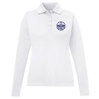 NYSCVBO- Ladies Long Sleeve Performance Polo