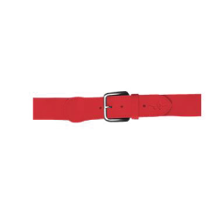btb- Red Baseball Belt, Youth & Adult